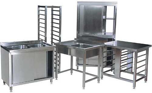 Stół ze zlewem i półką 100×60 SPAWANY!  5728517747